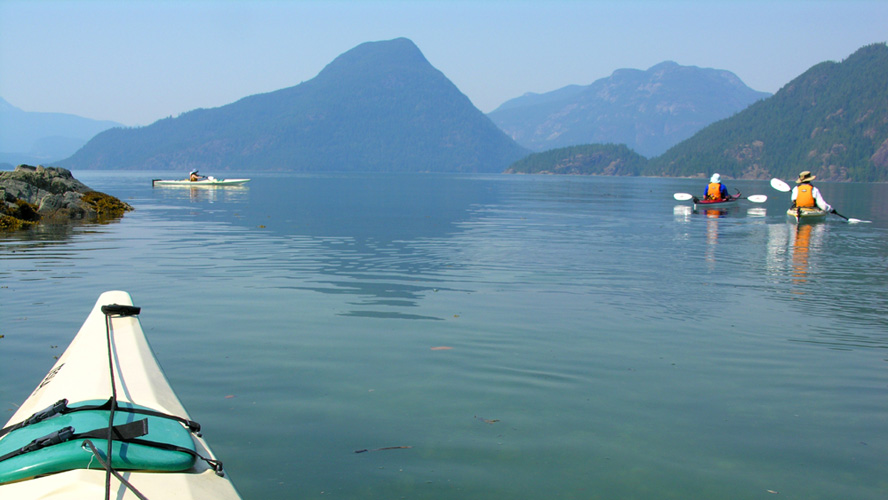 multi day kayak trip desolation sound
